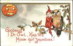 Goodness Dr. Owl Has The Moon Got Jaundice!