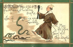 St. Patrick Freed Old Erllin From Every Twisting Snake