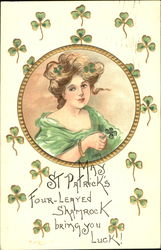 May St. Patrick's Four-Leaved Shamrock Bring You Luck!