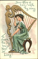 Dear Harp Of Erin Wake Thy Song