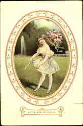 Little Miss Impudence Postcard