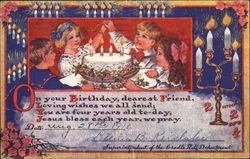 On Your Birthday Postcard