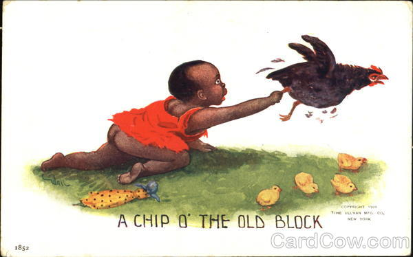 A Chip O The Old Block Black Americana