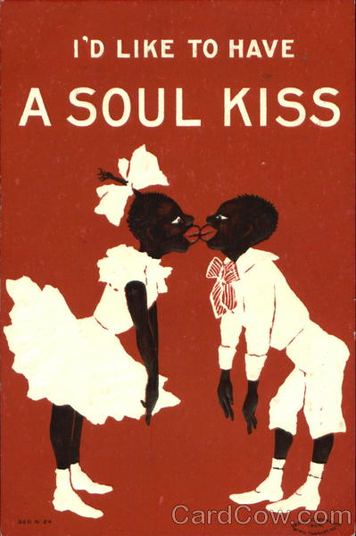 I'D Like To Have A Soul Kiss Black Americana