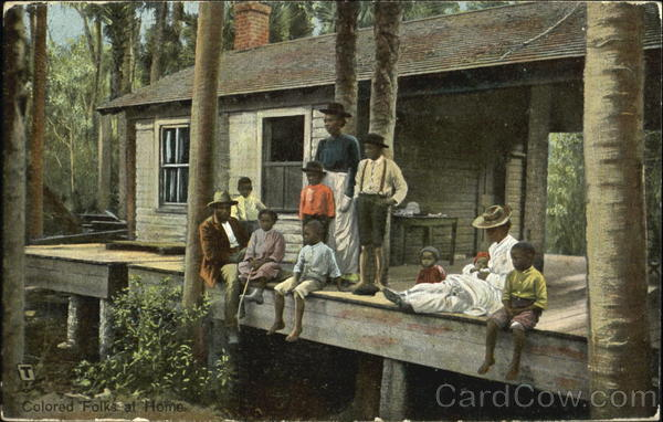 Colored Folks At Home Black Americana