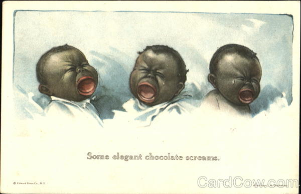 Some Elegant Chocolate Screams Black Americana