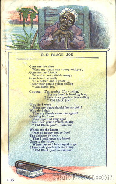 Old Black Joe Black Americana