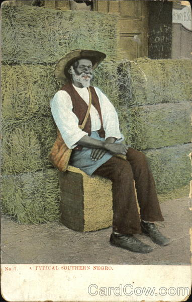 A Typical Southern Negro Black Americana