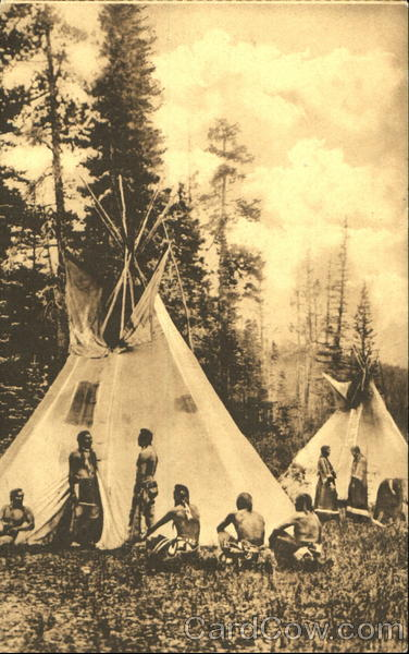 Blackfeet Indian Council Native Americana