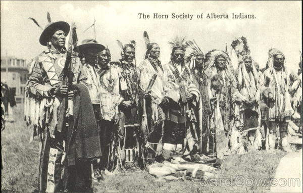 The Horn Society Of Alberta Indians Native Americana