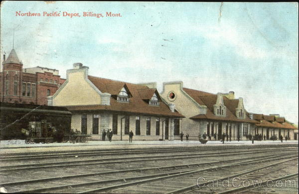 Northern Pacific Depot Billings Montana Native Americana