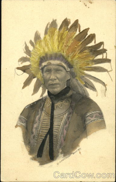 Indian Chief Native Americana
