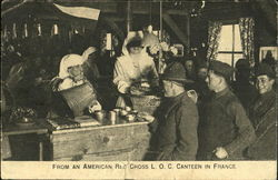 From An American Red Cross L. O. C. Canteen In France