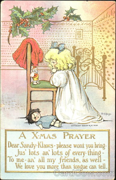 A X-Mass Prayer M. G. Hays Children