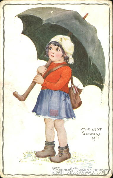 1911 Wet Millicent Sowerby Girls