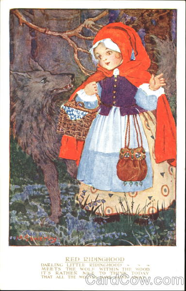 Red Ridinghood Millicent Sowerby Nursery Rhymes