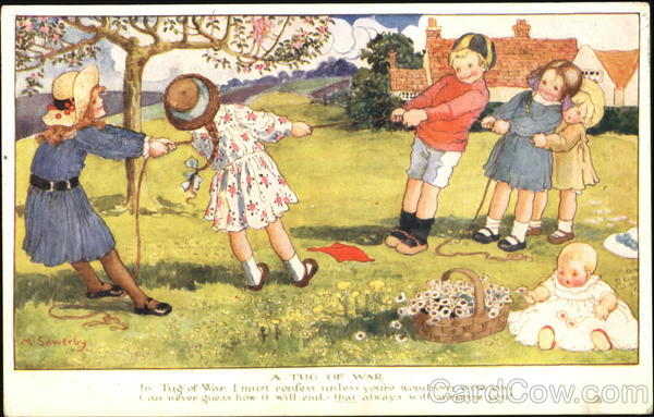 A Tug Of War Millicent Sowerby Children