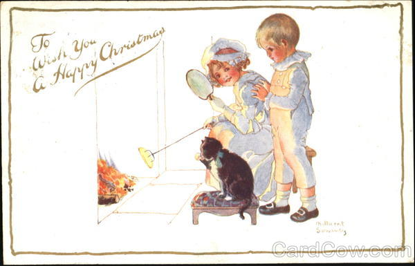 To Wish You A Happy Christmas Millicent Sowerby Children