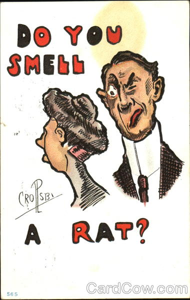 Do You Smell A Rat? Percy Crosby Romance & Love