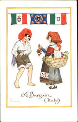 A Bargain (Italy) Postcard
