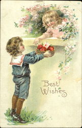 Best Wishes Postcard