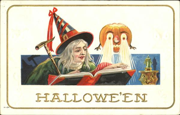Halloween Witch JOL Reading  Book H-24 E. Nash