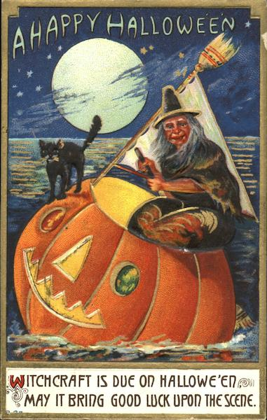 Whitch in JOL Sailboat Halloween