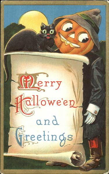 Merry Halloween And Greetings