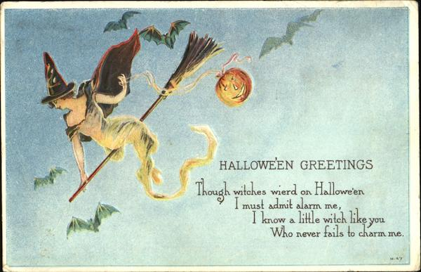 Halloween Greetings H-47 E. Nash