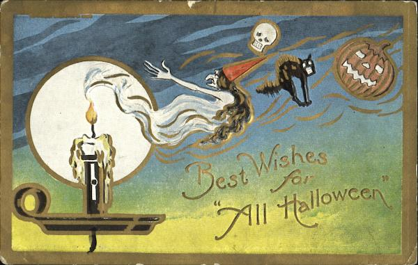 Best Wishes For All Halloween