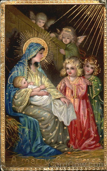 A Merry Christmas Madonna & Child