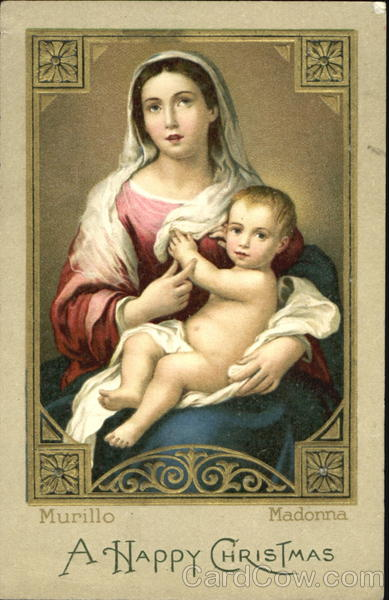 A Happy Christmas Madonna & Child