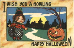 I Wish You A Howling Happy Halloween