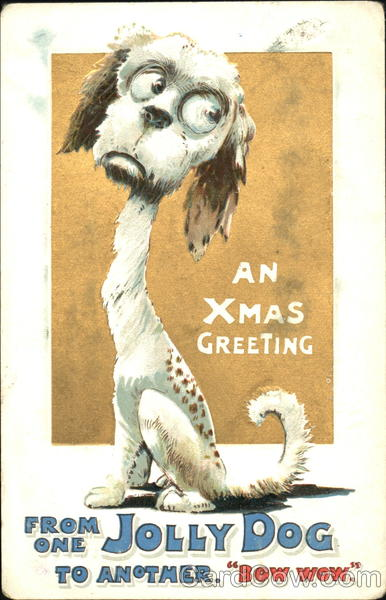 An Xmas Greeting Dogs