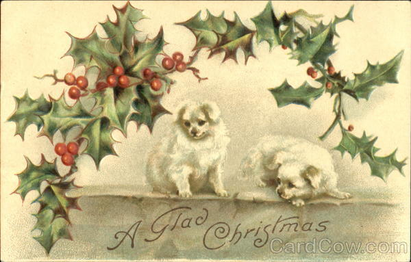 A Glad Christmas Dogs