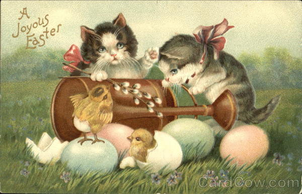 A Joyous Easter Cats