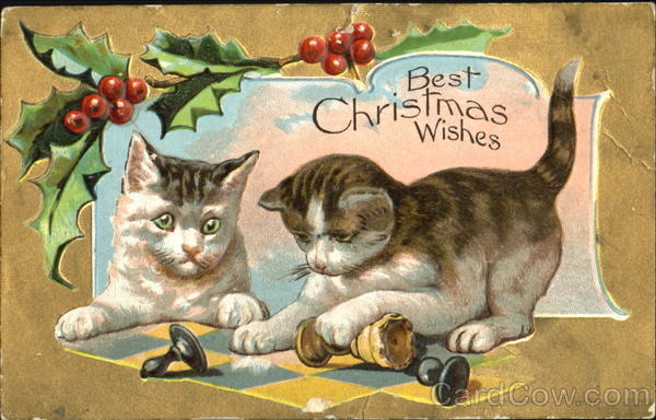 Best Christmas Wishes Cats