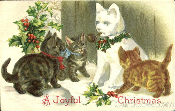 A Joyful Christmas Cats
