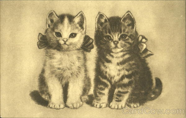 Kittens with Bows Cats