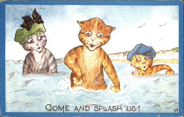Come And Splash Us! VR Cats