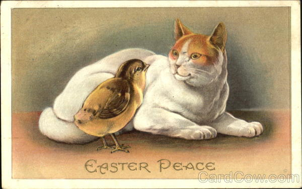 Easter Peace Cats