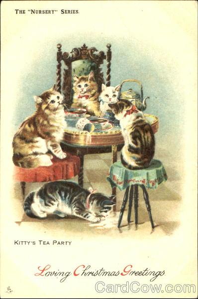 Kitty's Tea Party Cats