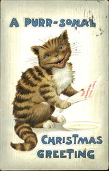 A Purr-Sonal Christmas Greeting