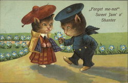 Forget Me-Not Sweet Jan O Shanter Postcard