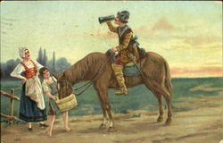 Old Soldier on Horse