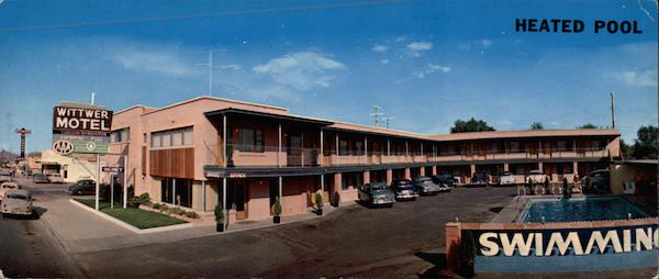 Wittwer Motel And Cafe, 700 North Main St Las Vegas Nevada