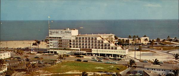 Airview Of Fort Lauderdale's Famed Yankee Clipper Hotel Florida