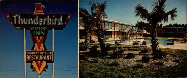Thunderbird Motor Inn And Country Kitchen Restaurant U S