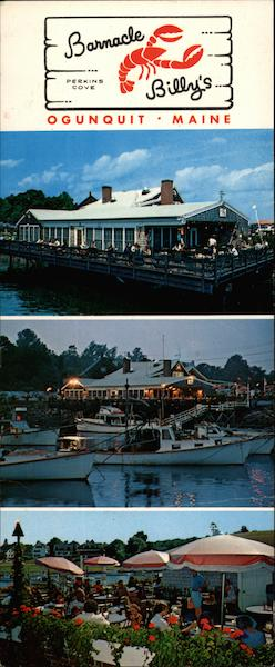 Barnacle Perkins Cove Billy's Ogunquit Maine