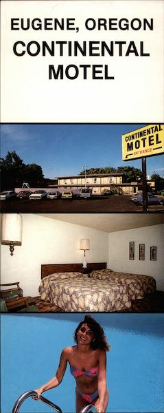 Continental Motel, 390 E. Broadway Eugene Oregon